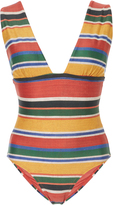 Lenny Niemeyer Striped One-Piece Swimsuit