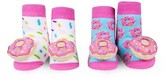 Infant Waddle & Friends 2-Pack Donut Rattle Socks