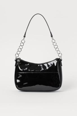 H&M Patent Handbag - Black