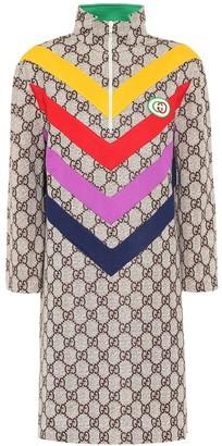 Gucci GG Supreme cotton-blend dress