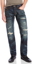 Cult of Individuality Rebel Distressed Straight Jeans