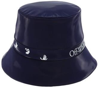 Off-White Logo Nylon Bucket Hat