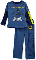 Intimo Batman Blue 'The Dark Knight' Pajama Set - Toddler