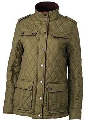 James & Nicholson Women's Steppjacke Ladies Diamond Quilted Jacket,M