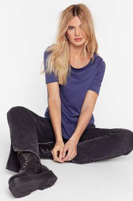 Nasty Gal Join the Crew Neck Tee