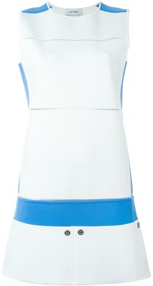 Courreges Colour Block Mini Dress