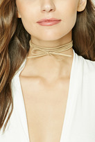 Forever 21 FOREVER 21+ Layered Faux Suede Choker Set