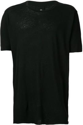 Thom Krom longline plain T-shirt