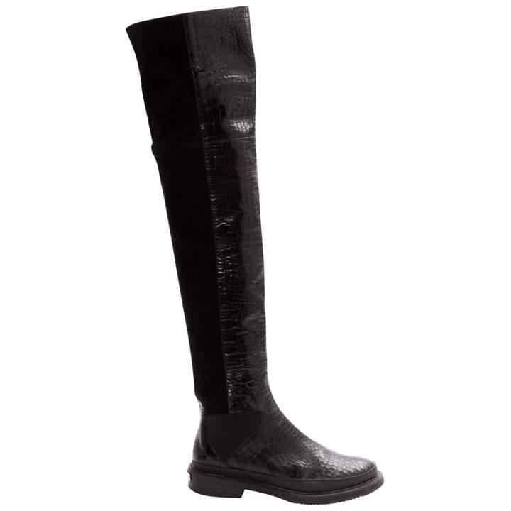 Aperlaï Leather boots
