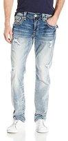 Rock Revival Men's Wesley J7 Straight-Leg Jean