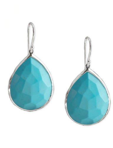 Ippolita Turquoise Teardrop Earrings, Medium