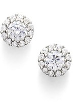Nordstrom Precious Metal Plated 0.50ct tw Cubic Zirconia Stud Earrings