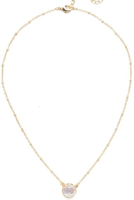 Sorrelli Isabella Pendant Necklace - Bright Gold Finish