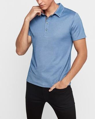 Express Luxe Comfort Knit Performance Polo