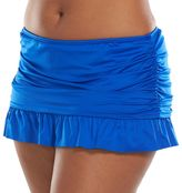 Apt. 9 Plus Size Ruched Skirtini Bottoms