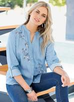 Together Chambray Embroidered Shirt