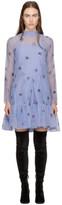 Erdem Purple Cosima Trapeze Dress