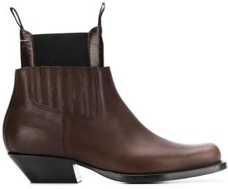 MM6 MAISON MARGIELA Panelled Ankle Boots