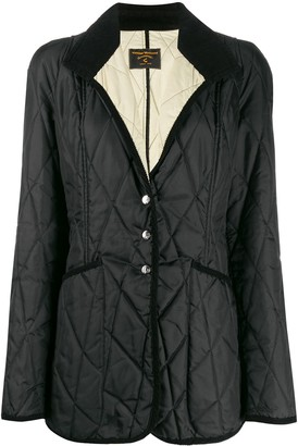 Vivienne Westwood Pre Owned 1990s Diamond Quilted Padded Coat