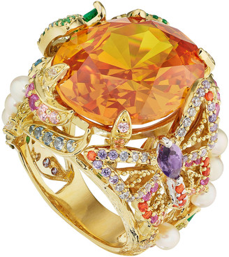 Anabela Chan 18K Yellow Gold Citrine Swallowtail Ring