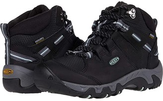 Keen Steens Mid Polar (Black/Harbor Gray) Women's Shoes