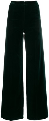 Emanuel Ungaro Pre Owned 1970's Wide-Leg Trousers
