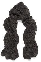 Rick Owens Oversized open-knit cashmere scarf