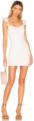 Majorelle Fanning Mini Dress