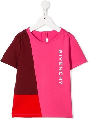 Givenchy Kids colour block logo T-shirt
