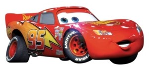 York Wall Coverings York Wallcoverings Cars - Lightening Mcqueen Peel and Stick Giant Wall Decal