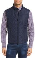 Pal Zileri Men's Quilted Nylon Field Vest