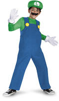 Disguise Luigi Deluxe Dress-Up Set - Boys