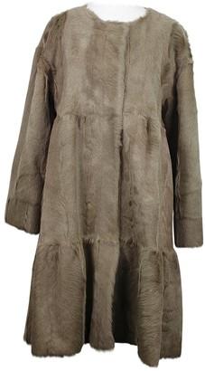 P.A.R.O.S.H. Fur Coat for Women