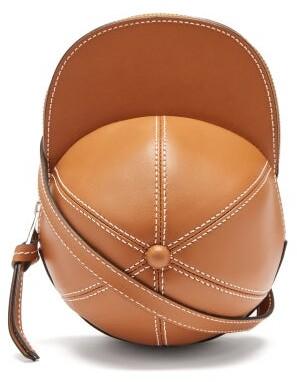J.W.Anderson Cap Leather Cross-body Bag - Tan