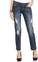 KUT from the Kloth Jeans, Catherine Straight-Leg Boyfriend-Fit, Artist Wash