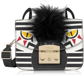 Furla Metropolis Jungle Zebra Mini Crossbody Bag