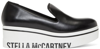Stella McCartney Black Binx Platform Slip-On Sneakers