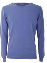 Daniele Fiesoli Men's Light Blue Cotton Sweater.