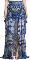 Camilla Short Skirt w/Full Overlay, Rhythm & Blues