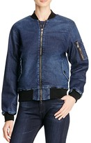 Hudson Gene Denim Bomber Jacket