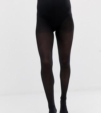 Mama Licious Mamalicious Maternity 2 pack 50 denier tights in black