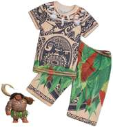 Star Global Patterned Maui Shirt and Pants for Kids Moana for Halloween