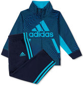 adidas 2-Pc. Fusion Camo Jacket and Pants Set, Baby Boys (0-24 months)