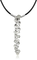 Orlando Orlandini White Gold Cascade Pendant Necklace w/Diamond