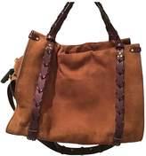 Jerome Dreyfuss Camel Suede Handbags