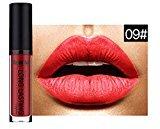 Sunmy Women Matte Colorful Lipgloss Ladies Beauty Makeup Lipstick
