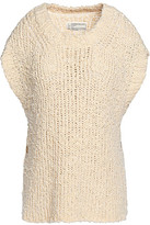Current/Elliott Open-Knit Cotton Sweater