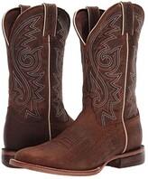 Durango 12 Arena Pro Square Toe (Worn Saddle) Men's Shoes