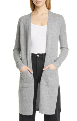 Theory Torina B Long Cashmere Cardigan