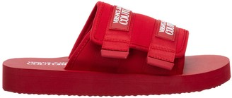 Versace Velcro Strap Slides